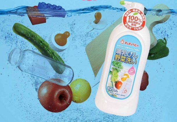 Nước rửa bình sữa Chuchu