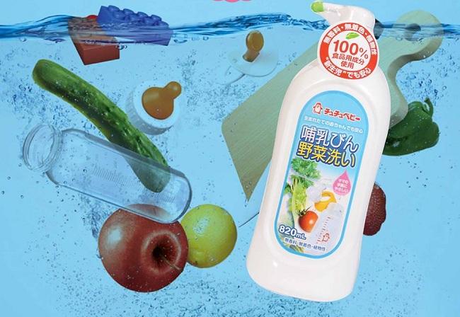 Đánh giá 5 loại nước rửa bình sữa tốt cho bé | Combi, Dnee, Wesser, Arau...