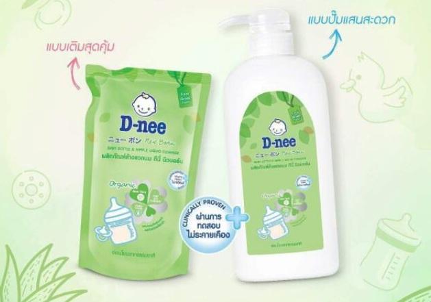 Review nước rửa bình sữa Dnee có tốt không? Mua nước rửa bình sữa Dnee ở đâu?
