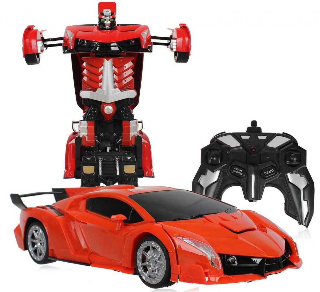 Ô tô biến hình robot transformer