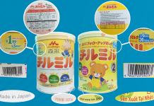 sữa morinaga nhập khẩu và xách tay