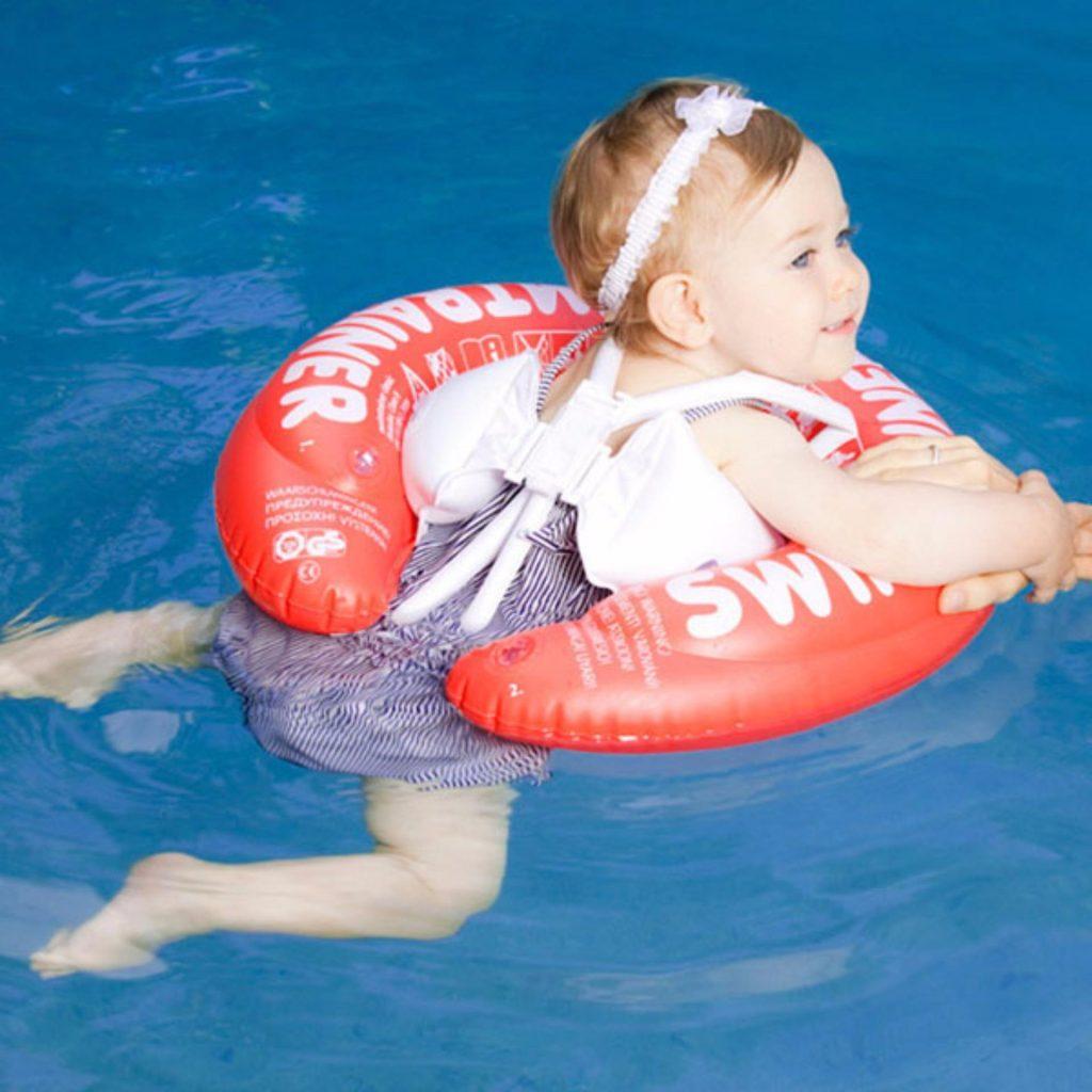 Phao tập bơi có đai an toàn chống lật