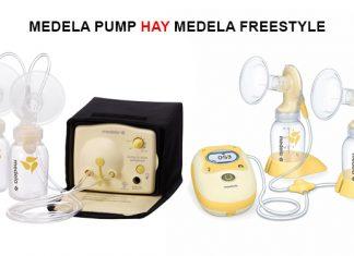 so sánh máy hút sữa Medela Pump và Freestyle
