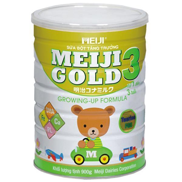 sữa meiji gold 3 cho bé trên 1 tuổi
