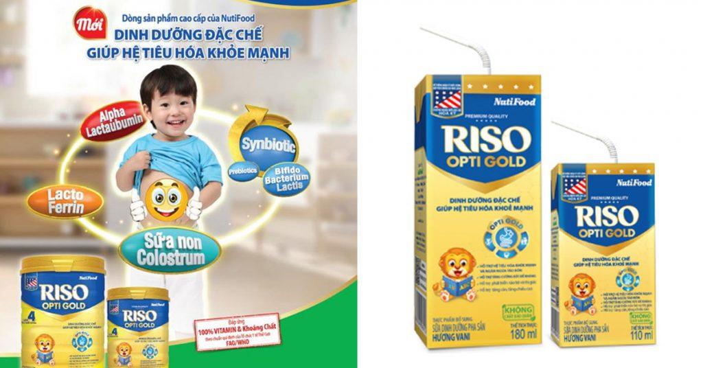 sữa riso opti gold pha sẵn