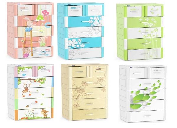 ưu điểm tủ nhựa Duy Tân 6 ngăn, 5 tầng
