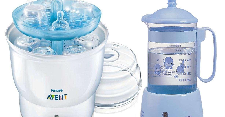 Vì sao cần máy tiệt trùng bình sữa cho bé?
