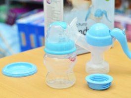 Máy vắt sữa bằng tay cho bé