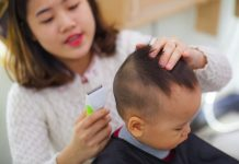 Tông đơ cắt tóc trẻ em tốt