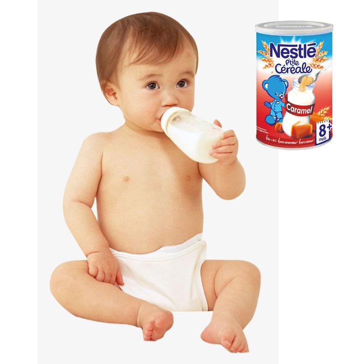 Hướng dẫn cách pha bột lắc sữa Nestle từng vị.