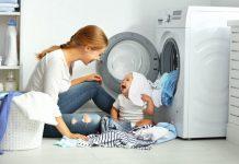 quần áo trẻ sơ sinh có nên giặt máy