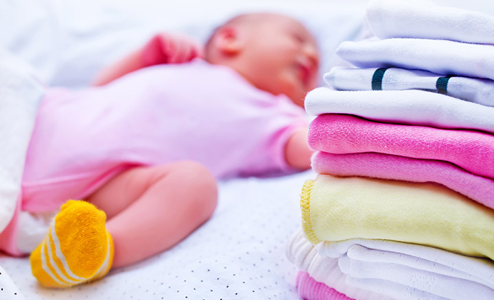 Giải đáp thắc mắc có nên giặt đồ sơ sinh bằng máy giặt