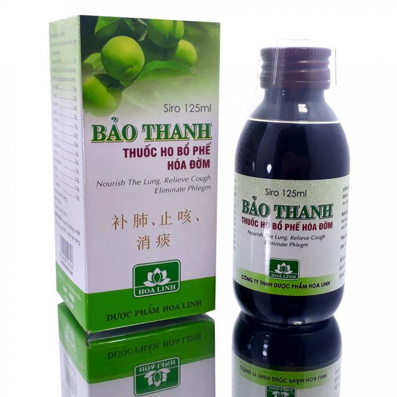 Siro ho Bảo Thanh cho bé