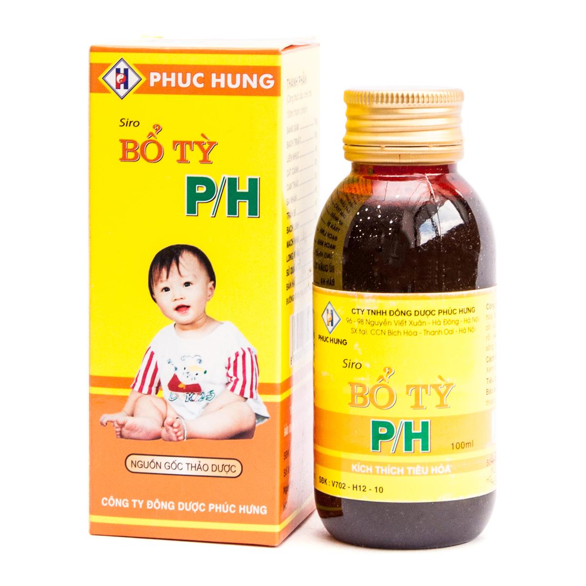 Siro ho PH cho trẻ từ 1 tuổi
