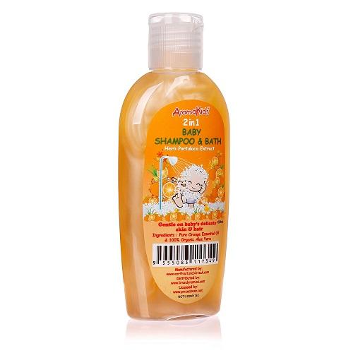 Dầu gội sữa tắm Aromakids 2 trong 1 Baby Shampoo & Bath