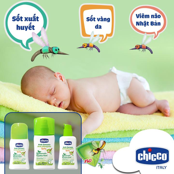 Sử dụng xịt chống muỗi Chicco có tốt cho bé hay không?