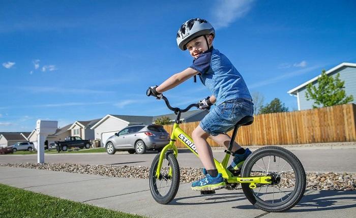 Cách tập đi xe đạp 2 bánh