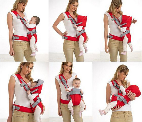 hướng dẫn cách đeo địu 6 tư thế chi tiết nhất cho mẹ