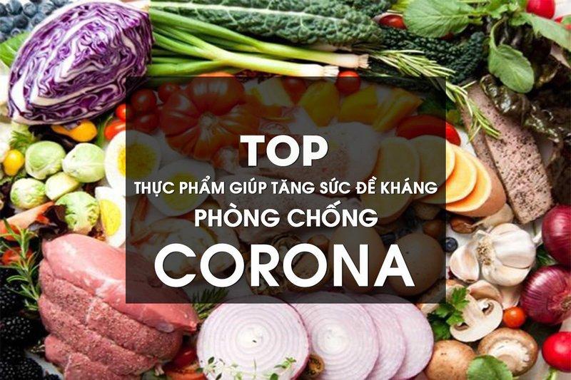 List 15 thực phẩm tăng sức đề kháng phòng tránh virus corona tốt nhất