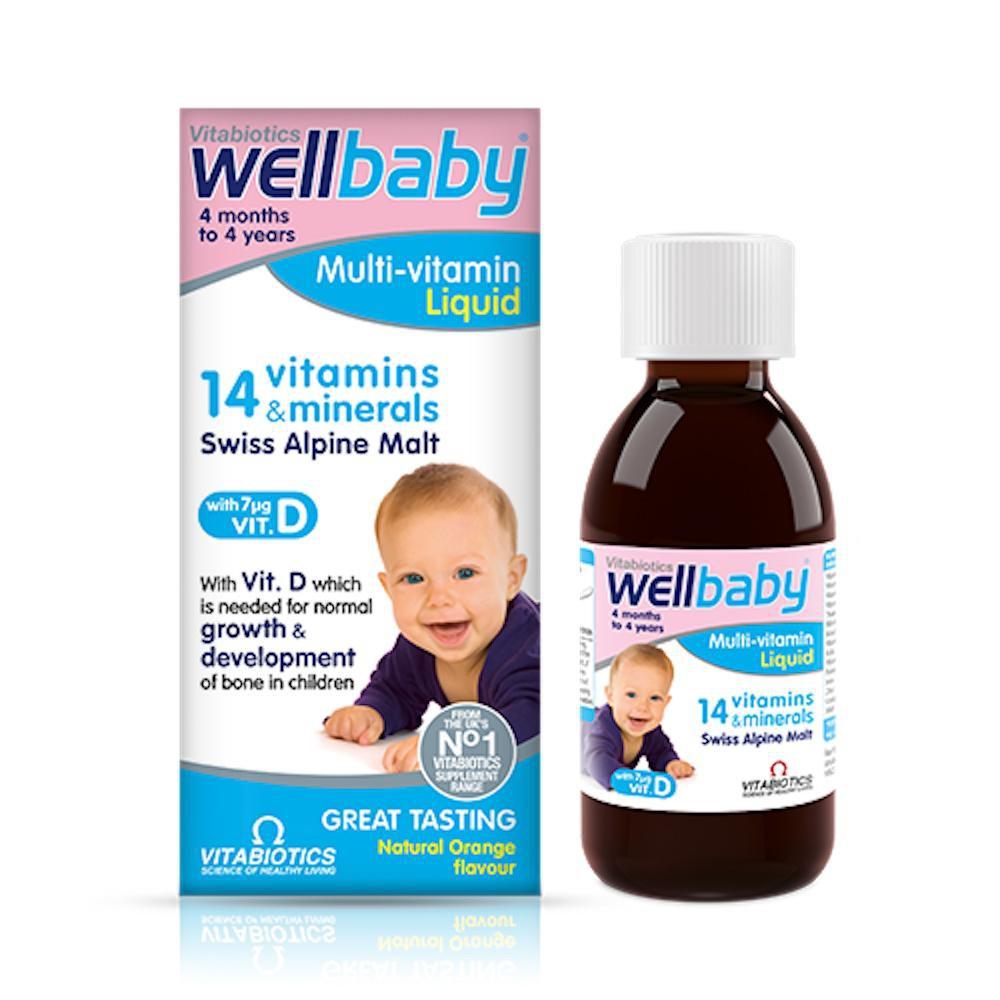 vitamin tăng sức đề kháng cho bé