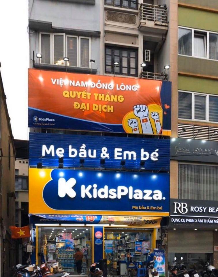 Lịch làm việc của cửa hàng Kids Plaza