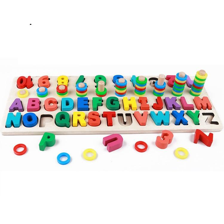 Đồ chơi học lắp ghép bảng chữ cái