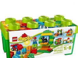 Bộ xếp hình Lego Duplo thùng gạch