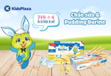Cháo sữa và Pudding Burine