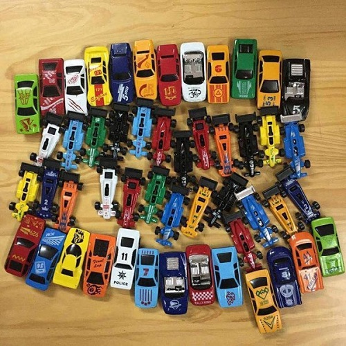 Bộ ô tô đồ chơi 50 xe dành cho trẻ