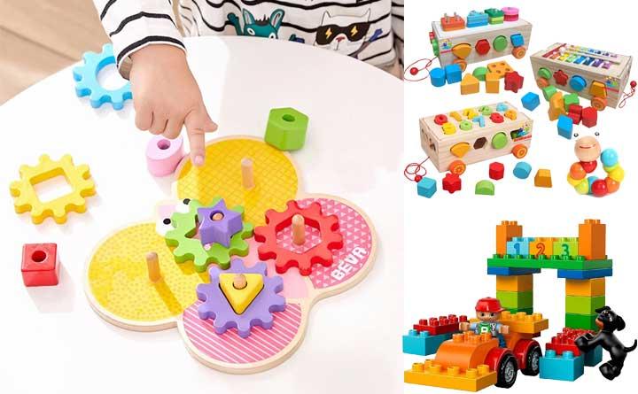 Danh sách các trò chơi cho bé 1-2 tuổi rèn luyện trí thông minh