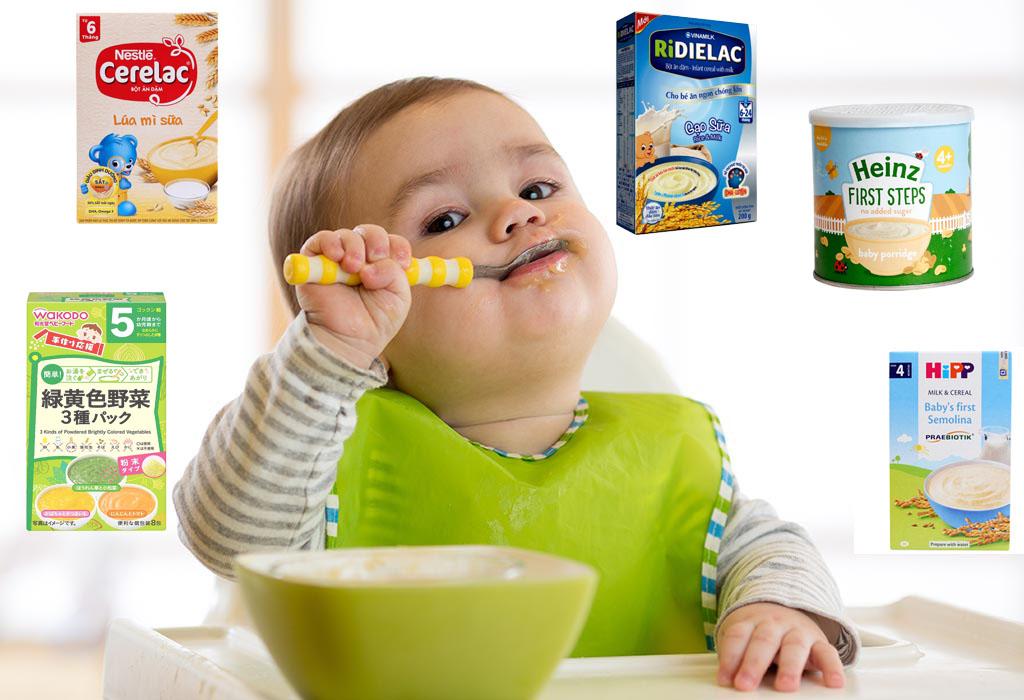 Mẹ nên chọn bột ăn dặm loại nào tốt nhất cho bé?