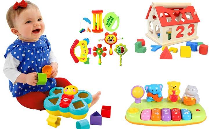 Điểm danh 10 món đồ chơi cho trẻ sơ sinh thông minh siêu đẹp