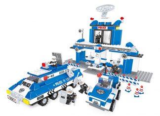 Bộ lego trải nghiệm làm cảnh sát