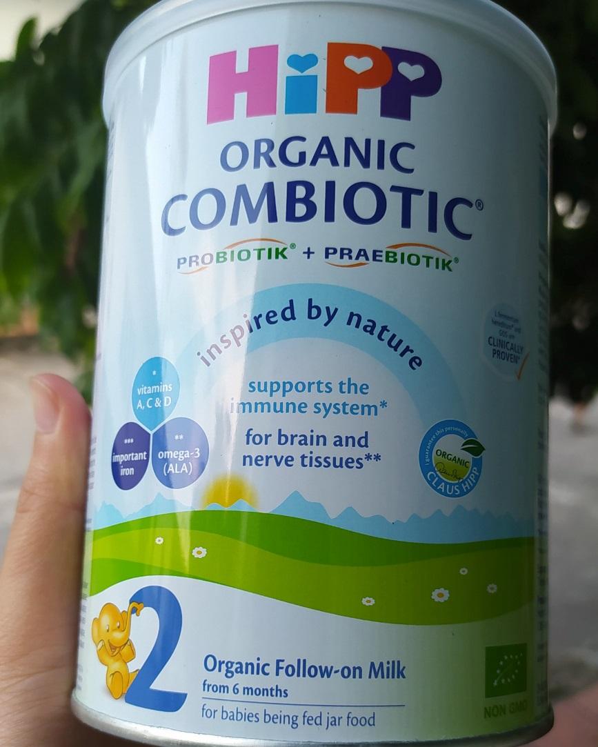 Review Về Sữa HiPP COMBIOTIC Của Mẹ Kem