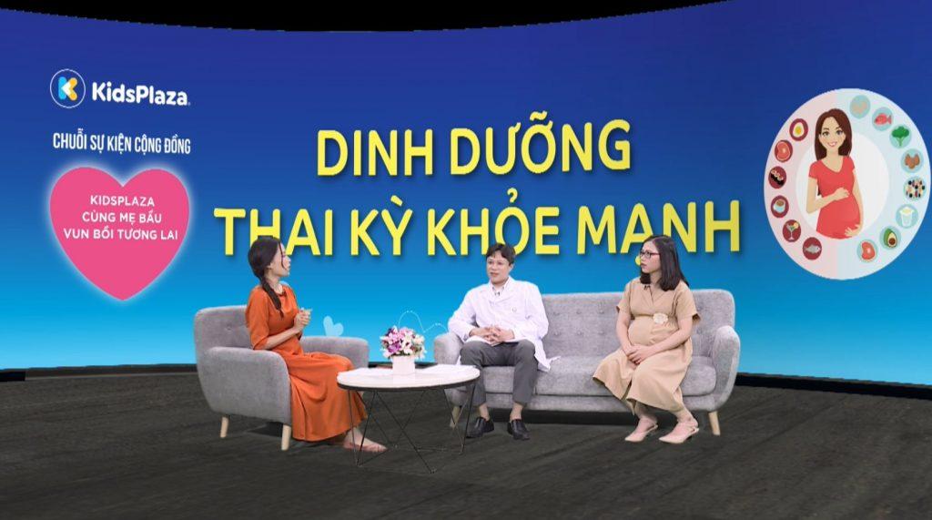 """Talkshow: """"Dinh dưỡng thai kỳ"""""""