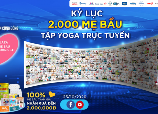 Kỷ lục 2.000 mẹ bầu tập yoga trực tuyến