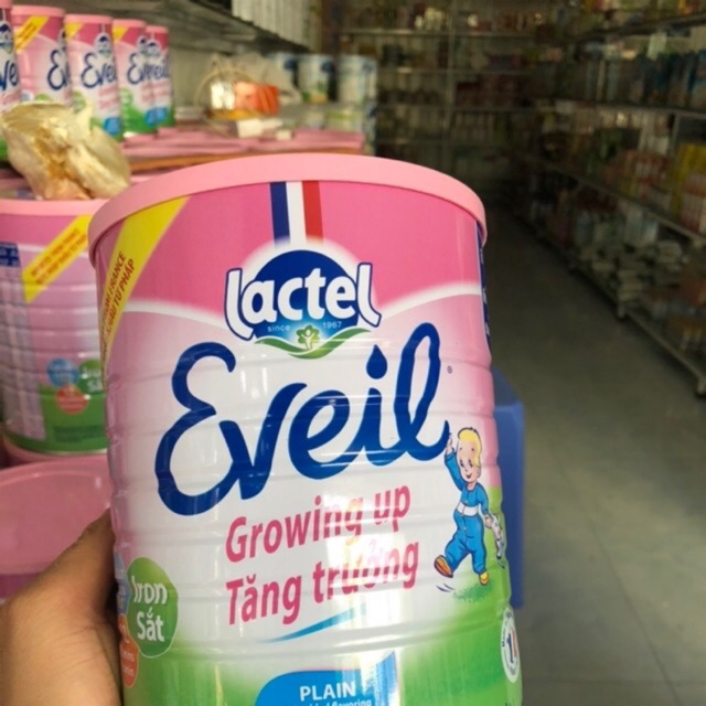 So sánh sữa Lactel Eveil và sữa Hikid