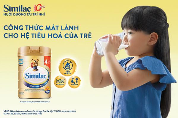 5 dòng sữa công thức giúp tốt cho hệ tiêu hóa trẻ hiện nay