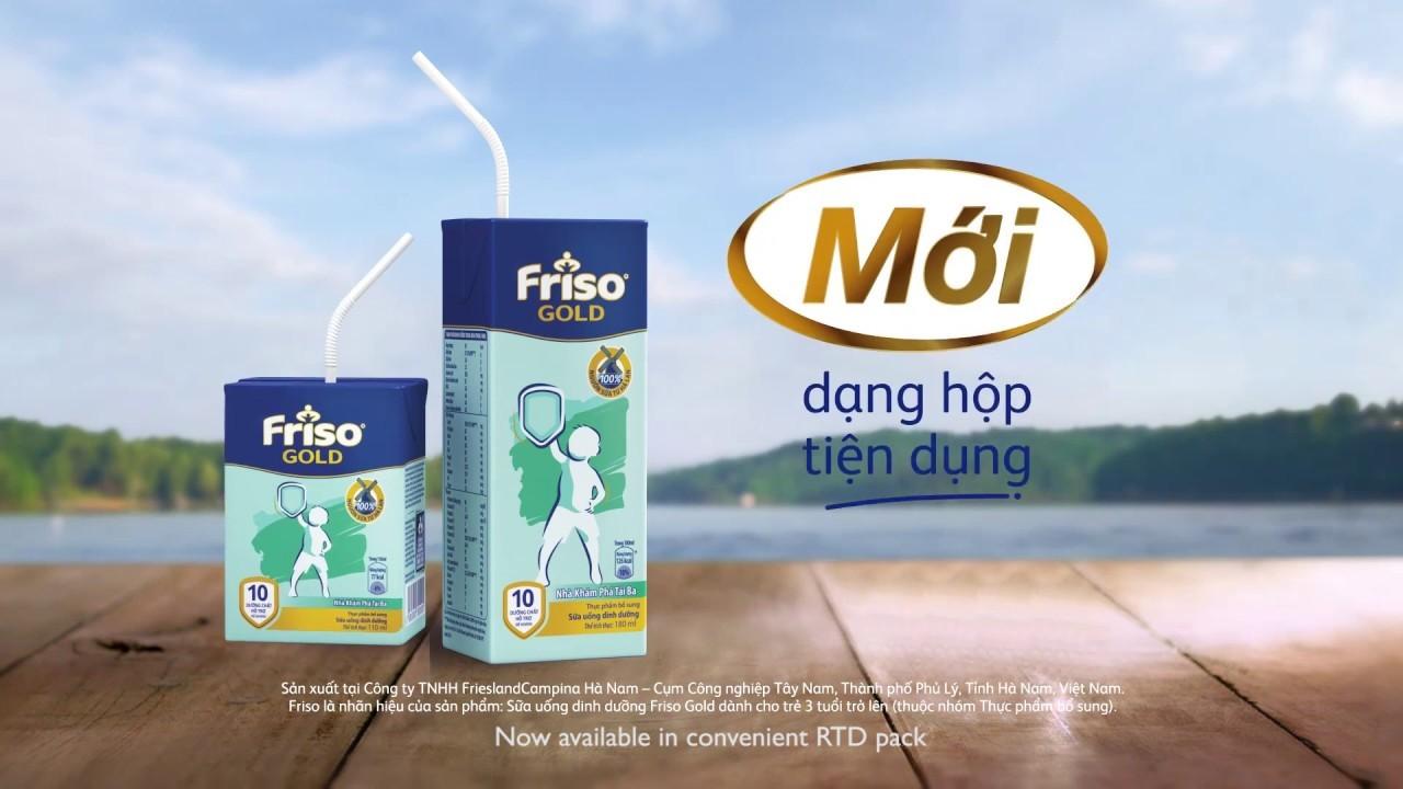 Đánh giá sữa Friso Gold pha sẵn có tốt cho bé hay không?
