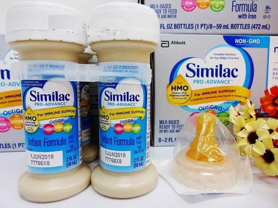 Sữa Similac dạng nước có tốt không? Có bị táo bón hay không?
