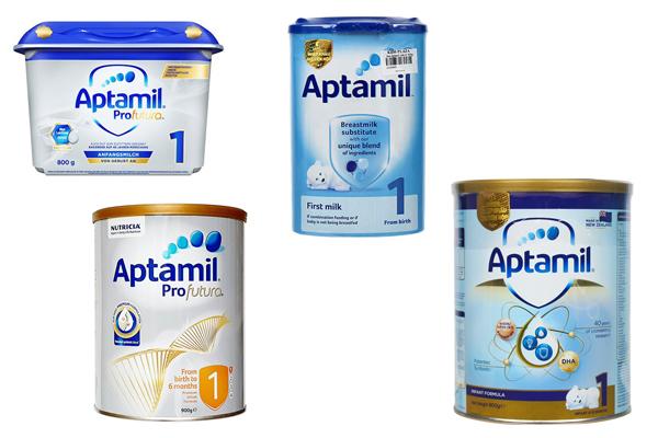 Sữa Aptamil có mấy loại? Sữa Aptamil tốt không?