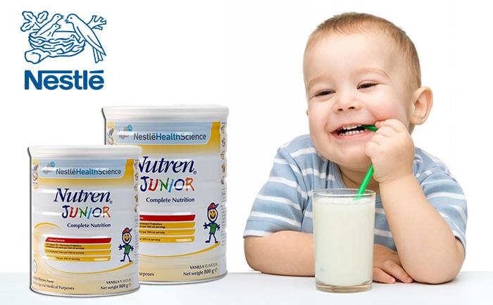 Sữa Nutren Junior của nước nào? Sữa Nutren Junior có tốt không?