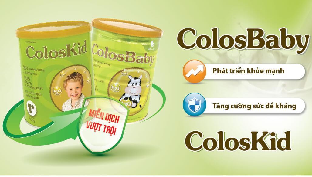 Sữa Colosbaby có tốt không? Công dụng, cách pha sữa đúng cách