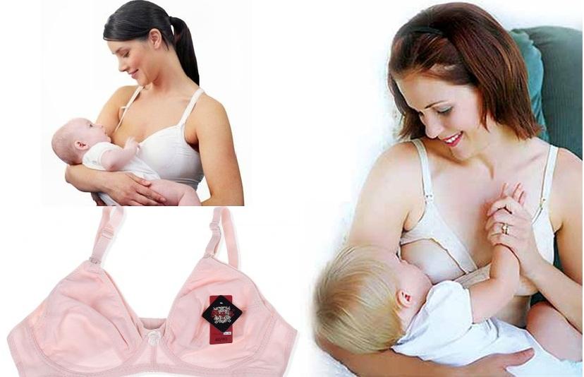 Mặc áo ngực cho con bú - giúp ngực mẹ sau sinh chống bị chảy xệ