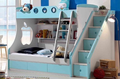Giường tầng cho bé trai 10 tuổi