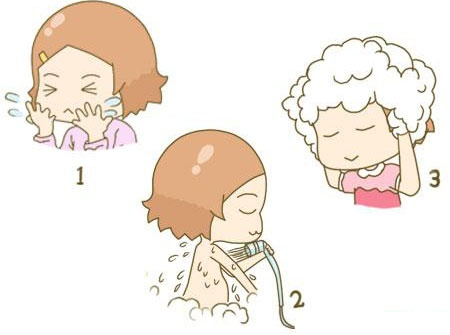 Thứ tự rửa mặt - tắm - gội là tốt nhất với mẹ ở cữ