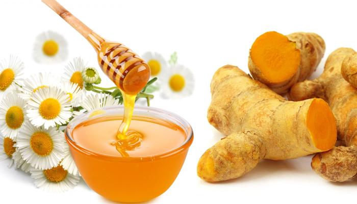 Trị mụn với mật ong nghệ
