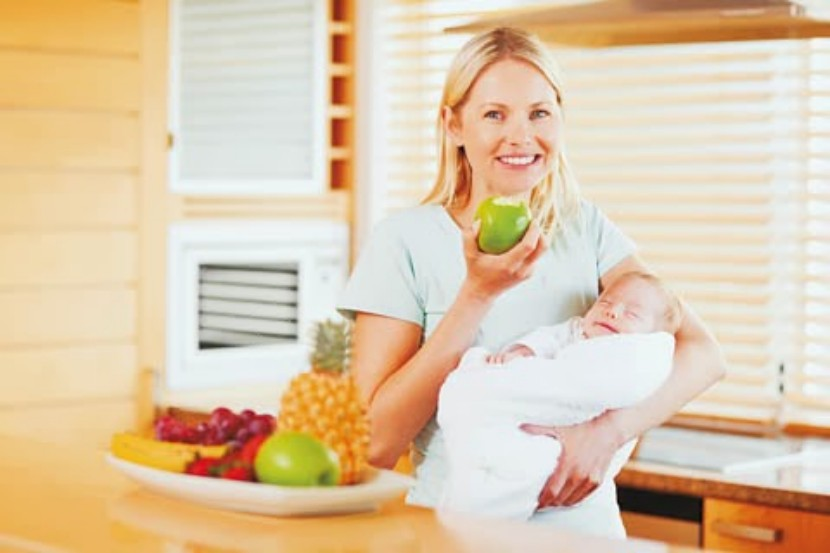 Chế độ ăn nghiêm ngặt sau sinh
