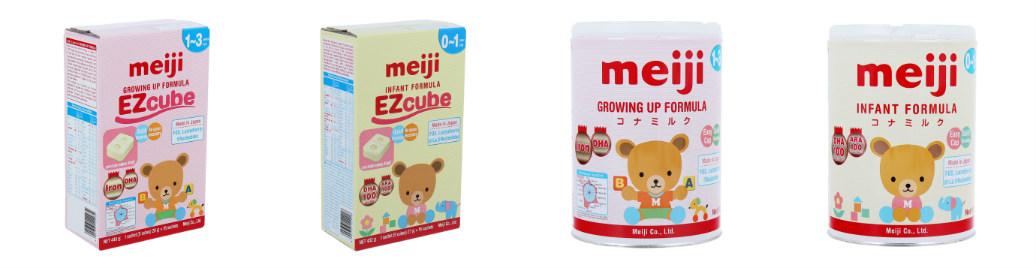 Sữa Meiji số 0 và số 9 nhập khẩu bởi công ty Cổ phần cổ phần Sóng Thần Hà Nội