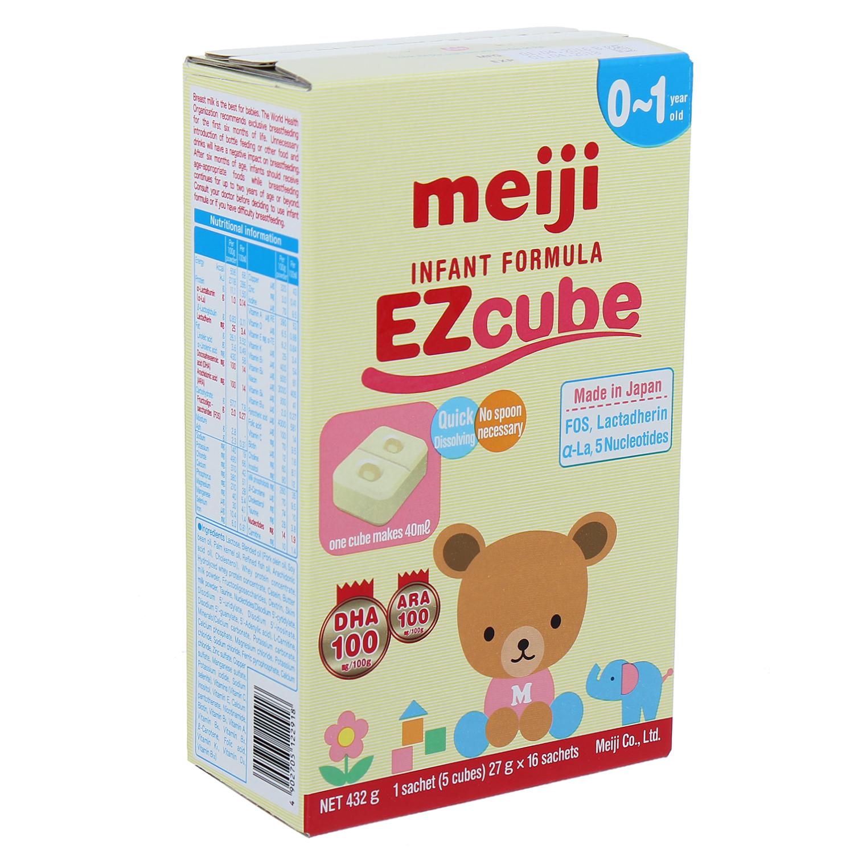 sữa Meiji thanh số 0 Infant Formula Ezcube